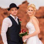 Die Valley of Fire Traum-Hochzeit von Micky und Anna.