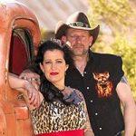 Virginia und Wolf haben mit Trau dich in Las Vegas in der Ghosttown geheiratet.
